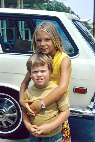 1972-11 Rose_Erik Leder_2.jpg<br /> <br /> Rosie being a protective big sister to Eric