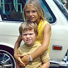 1972-11 Rose_Erik Leder_2.jpg<br /> <br /> Rosie being a protective big sister to Eric