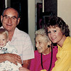 1989-11-11_Don Wichner_Lyndall_Kate Meyer_Diane Edmonds.jpg<br /> <br /> Aunt Kate's 90th birthday - four generations!