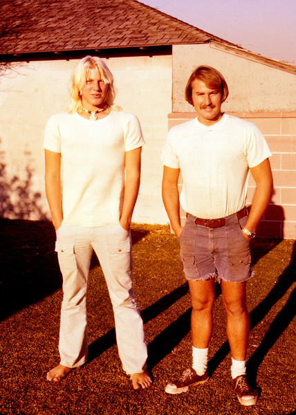 1977-02 Phillip Klocko_Keith Wichner.JPG<br /> <br /> Danny's son, Phillip with Uncle Keith Wichner