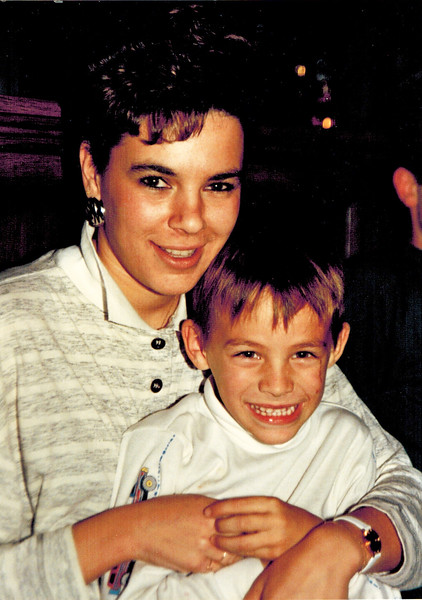 1988-12-25_Debbie_Matt Pitcher.jpg<br /> <br /> Aunt Debbie and Matt Pitcher on Christmas Day