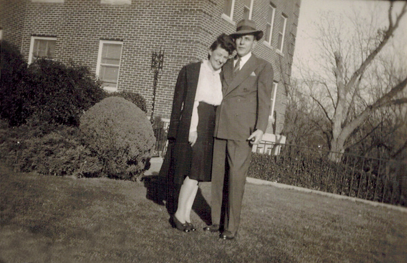 1935 Lydia_Harry Phillips.jpg<br /> <br /> Honeymooners, Aunt Lydia and Uncle Harry
