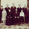 "1907_Charles & Otillie Wichner Family.JPG<br /> <br /> 1907_Elmer, Herman, William, Alfred, Emil Henry<br /> Lydia, Otillie, Charles, Walter, Ernie Wichner<br /> (approximate date)  ""7 brothers and 1 sister"""