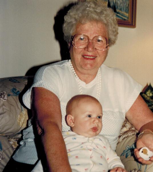 1989-05-22_Joan Wichner_Jeff Carlson.jpg<br /> <br /> Grandma Wichner with Jeff Carlson