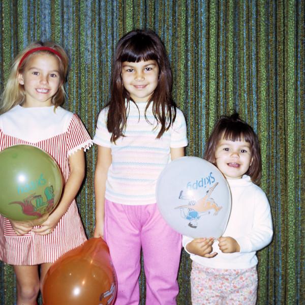 1970-12 Rose Leder_Pam_Debbie Pitcher.jpg<br /> <br /> Cousin fun!