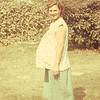 1953-08 Joan pregnant twins