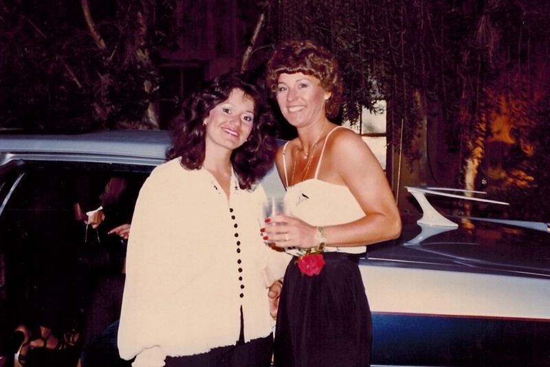 1982-05-06_Linda_Donna_Bachelorette Party.JPG<br /> <br /> Donna's bachelorette party