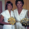 1982-05-08_Diane Wichner_Donna Carlson.JPG<br /> <br /> Wedding of Donna & Steve Carlson.  The Maid of Honor and Bride