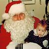 1990-12-23_Grandpa Wichner Santa_Kelsey 3-1/2 months.jpg<br /> <br /> Grandpa Don Wichner dressed up as Santa for all the kids.  Kelsey 3-1/2 months