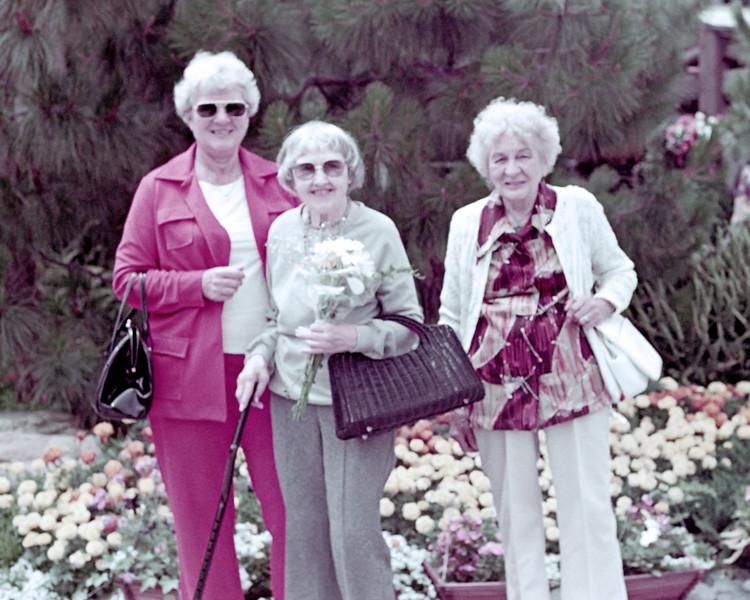 1979-07 Joan Wichner_Lydia Phillips_Kate Meyer.jpg<br /> <br /> Mom with Great Aunt Lydia Phillips and Great Aunt Kate Meyer