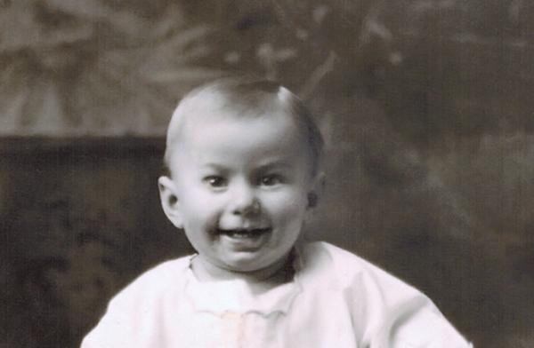 1921_Don Wichner_6 mos B.JPG<br /> <br /> My Dad, Don Wichner, 6 months