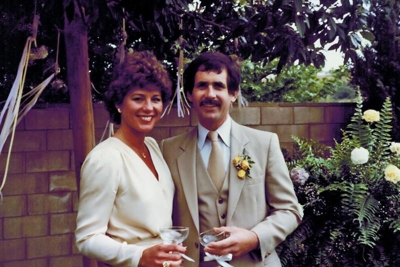 1982-05-08_Donna_Steve Carlson.JPG<br /> <br /> Wedding of Donna & Steve Carlson - the bride and groom!