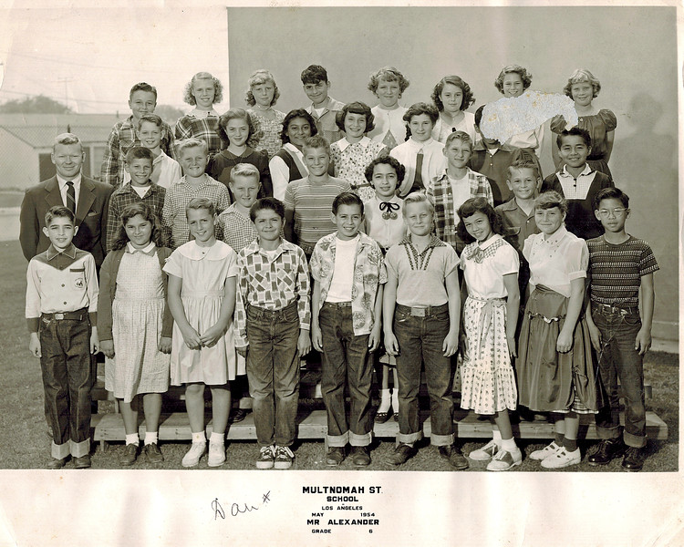 1954_Dan Wichner_6th grade Ed.jpg<br /> <br /> Danny Wichner - 5th from left, 2nd row from bottom