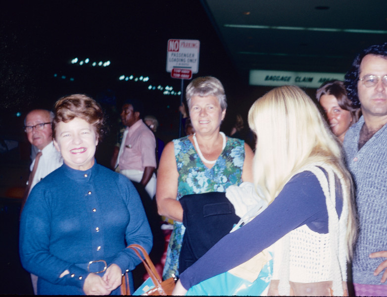 1973-06 Miriam's arrival, Davidsons