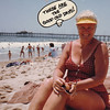 1983 Joan at beach