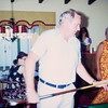 1973-08 Davidson Keith shoots pool