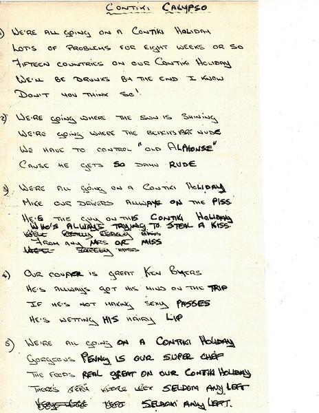 Day Book_Contiki Calypso Lyrics_1