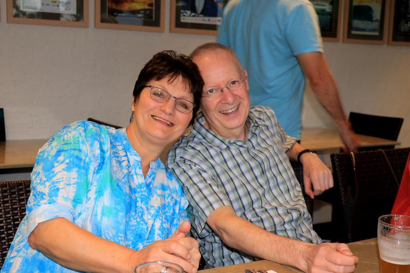 2019-03-01_351_Sue_Ken Lyons.JPG<br /> <br /> Contiki GE-26 40 year reunion in Melbourne - Night One