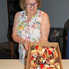 2019-03-02_410_Brenda with desserts.JPG<br /> <br /> Contiki GE-26 40 year reunion in Melbourne - Day Two