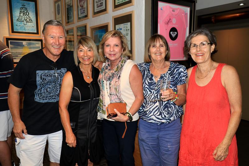 2019-03-01_352_Bryan_Kathy_Sue_Lucille_Robyn.JPG<br /> <br /> Contiki GE-26 40 year reunion in Melbourne - Night One