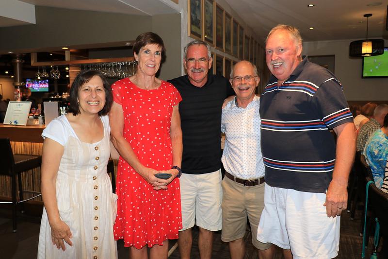 2019-03-01_367_Luisa_Sandra_Jeff_Robert_Alphonse.JPG<br /> <br /> Contiki GE-26 40 year reunion in Melbourne - Night One