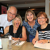 2019-03-01_348_Robert_Kathy_Lucille_Robyn.JPG<br /> <br /> Contiki GE-26 40 year reunion in Melbourne - Night One