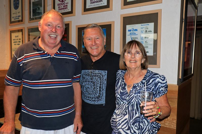 2019-03-01_349_Gerard_Bryan_Lucille.JPG<br /> <br /> Contiki GE-26 40 year reunion in Melbourne - Night One