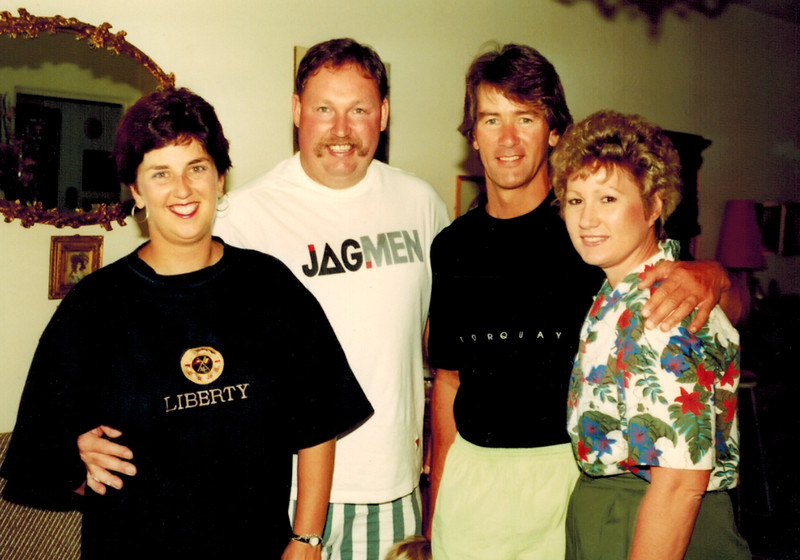 1991-03-09_Anne_Alphonse Nairn_Tony_Diane Edmonds.JPG<br /> <br /> The Nairn's drove all the way to Sydney from Melbourne to see us when we visited Sydney!