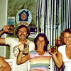 1979-08-26_Alan_Paula_Diane_Montpellier.JPG<br /> Kathy Booth, Alan Young, Paula Thrailkill, Diane Wichner<br /> Montpellier, France