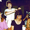 1979-09-06_Rome_Carolyn_Jacky_Ed_Bernice_Diane.JPG<br /> <br /> 'Fancy Dress Night' where everyone dressed up in costumes and performed on stage at the campground in Rome!  Jacky was a hairdresser so she did a lot of people's hair, including ED's!