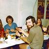 1979-08-29_Barcelona_Becky_John_Jeff_Gaynor_Paula.JPG<br /> <br /> Spanish 'National Meal', feasting on snails and lots of sangria!