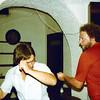 1979-08-29_Barcelona_Ken_Alphonse.JPG<br /> <br /> Ken and Alphonse practicing the Bump in Barcelona