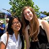 8049 FVHS Seniors, Tiffany Le and Melinda Telford