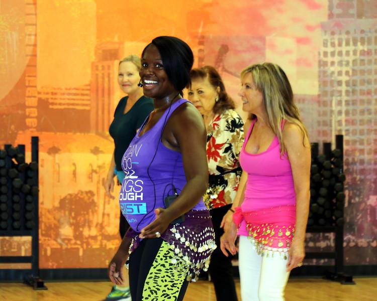 2019-07-10_1_Senior Fit_Shay_Teri_Elaine_Kathleen.JPG<br /> Shay Turner's last day teaching Senior Fit at LA Fitness
