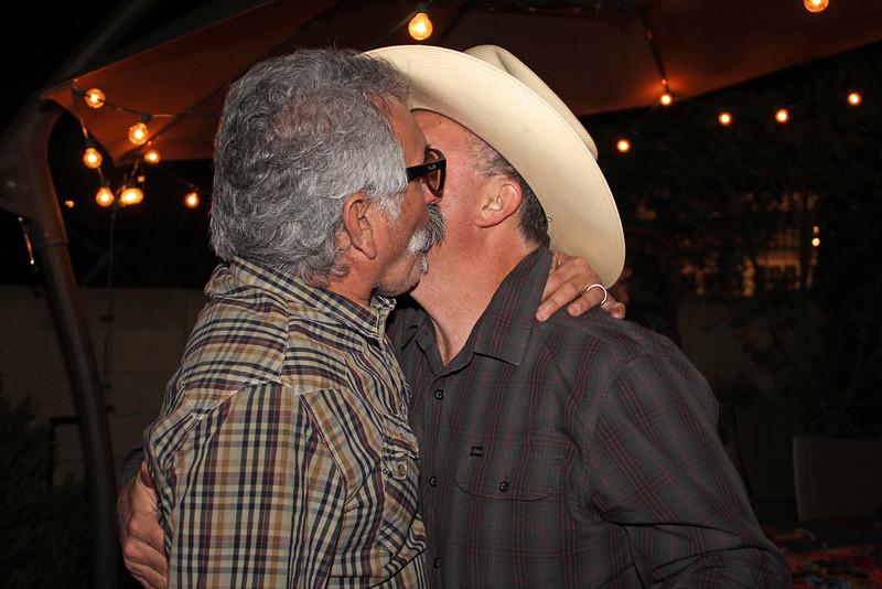2016-02-27_0439_Carlos Soria_Matt Nisco_Brokeback Cowboys.JPG<br /> Farewell party for the Soria's