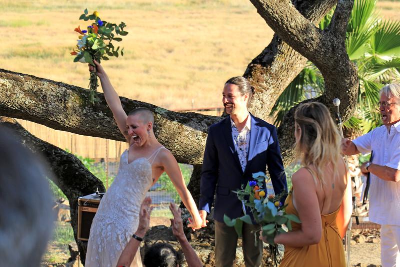 2019-06-15_30_Milada_Ron Pitcher_We Did It!.JPG<br /> Wedding of Ron Pitcher & Milada Belohlavek