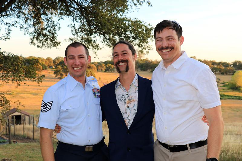 2019-06-15_75_Scott_Ron_Matt Pitcher.JPG<br /> The 3 brothers reunited