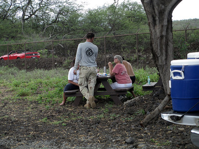 Another view of the picnic. (Photo by Irene Newhouse)