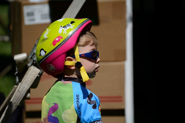 One of the youngest riders.