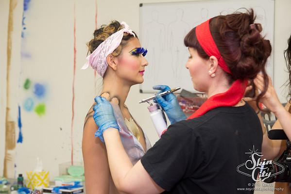 Skin Wars 3 Premiere at Sapphire