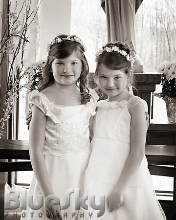 Marisa & Samantha's First Communion