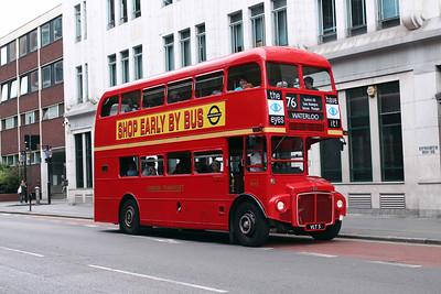(Preserved) London Transport RM5-VLT5 at Old Street