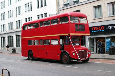 (Preserved) London Transport RML896-WLT896 at Old Street