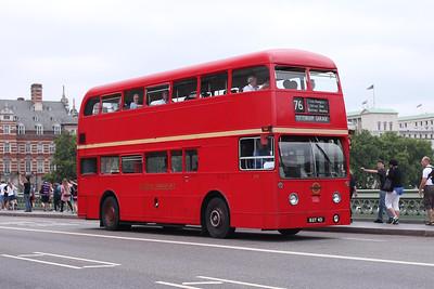 (Preserved) London Transport FRM1-KGY4D at Westminster Bridge
