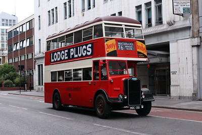 (Preserved) London Transport G351-HGC130 at Old Street