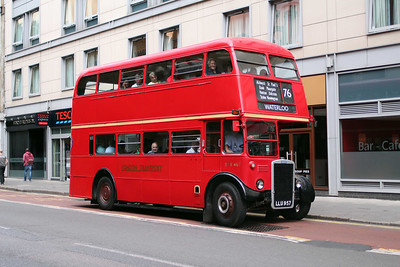 (Preserved) London Transport RTW467-LLU957 at Old Street