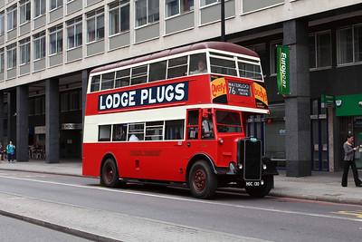 (Preserved) London Transport G351-HGC130 at Waterloo