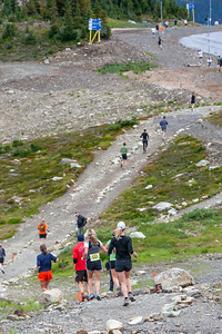 Five Peaks Trail Run, Whister Mountain