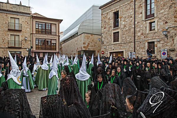 Semana Santa en Zamora - La salida de la Virgen de la Esperanza.