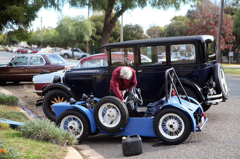 Wagga Wagga Vintage, Veteran and Classic Vehicle Rally 2017.